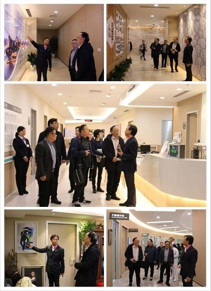 温州医科大学附属眼视光医院一行参观重庆爱尔眼科总院