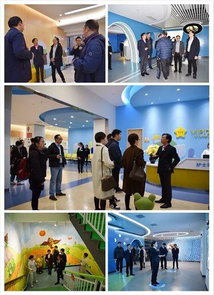 温州医科大学附属眼视光医院一行参观重庆爱尔儿童眼科医院